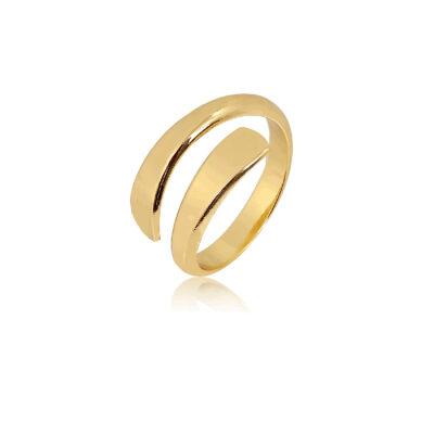Open torque gold ring