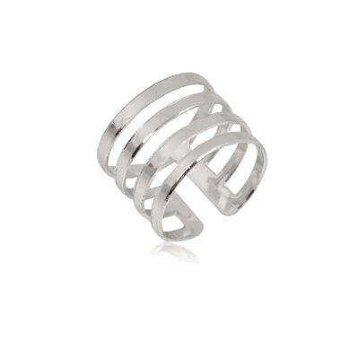 Adjustable Size Chunky ringsimply wow or what? Such a subtle yet unique accessory for any occasion. Perfect for a girl who loves to stand out in chic and elegant ways. Go, girl, express your personal style!