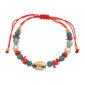 Shelby macrame bracelet (shell)